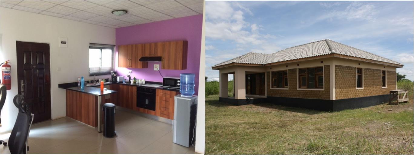 Zambian houses