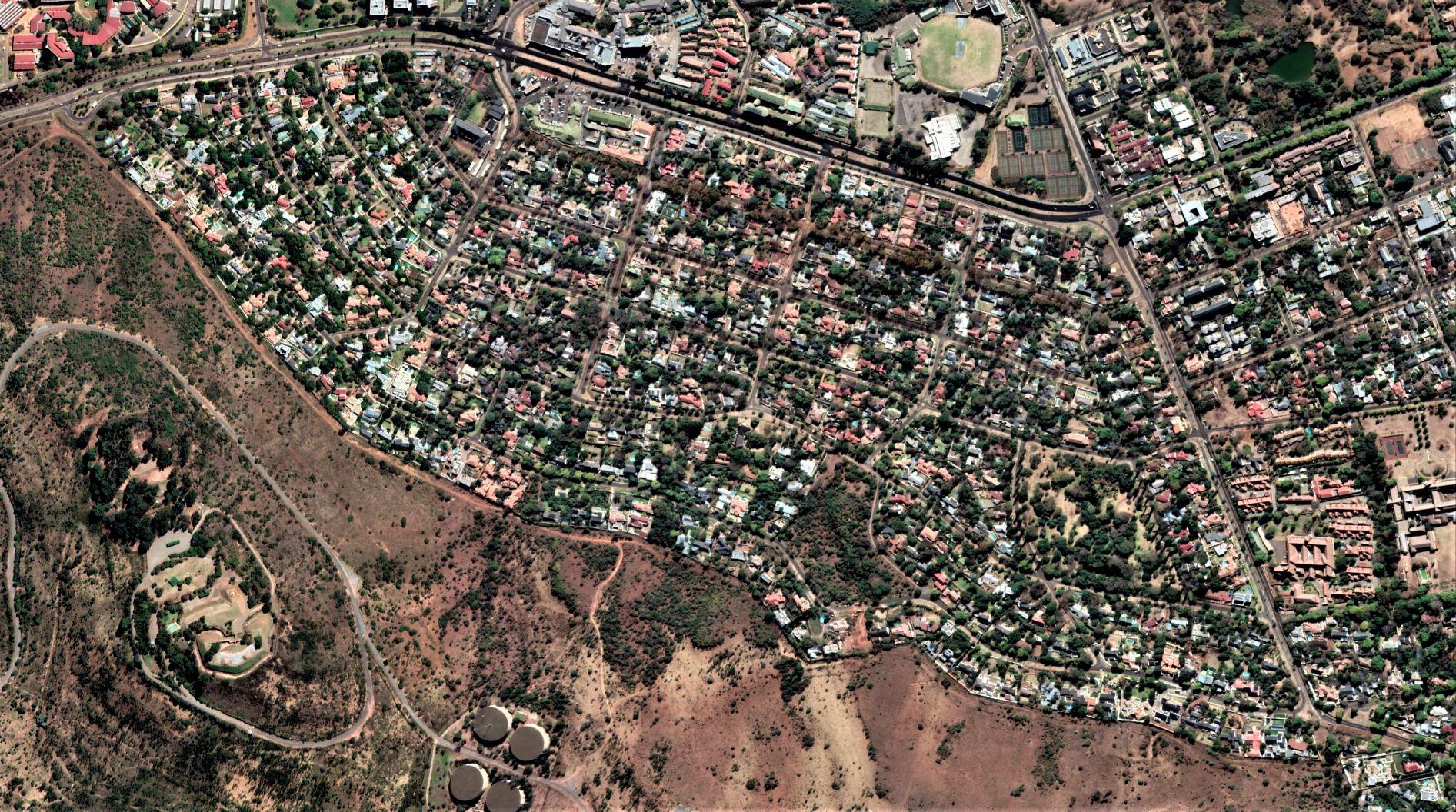 Groenkloog aerial view